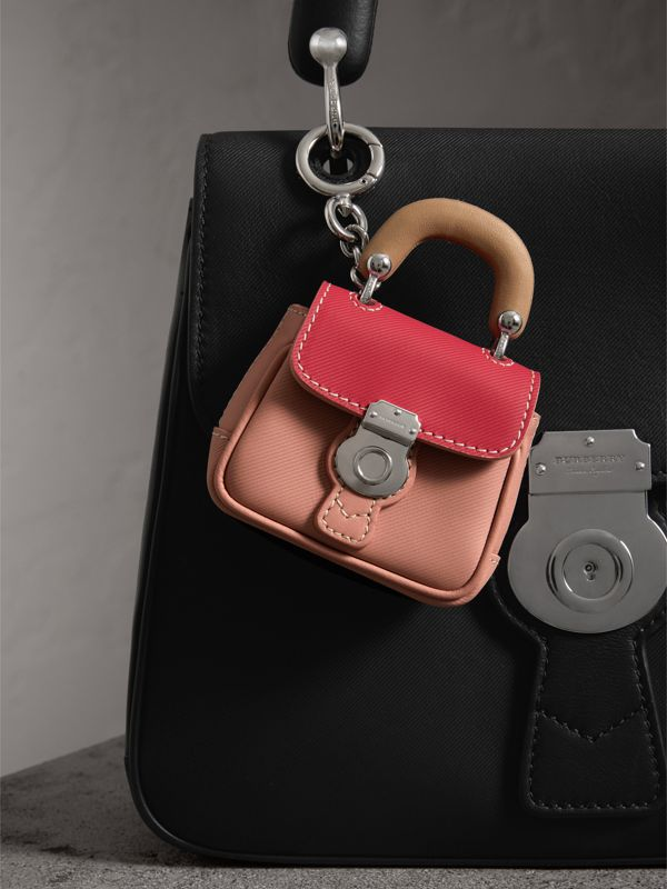 The DK88 Charm in Ash Rose/ Bright Russet | Burberry United Kingdom - cell image 2