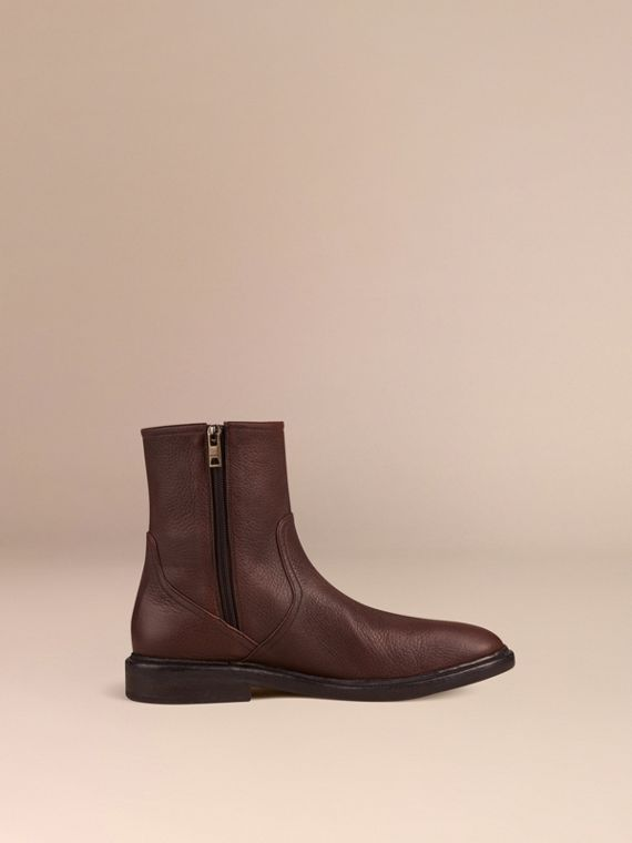 Bitter chocolate Deerskin Boots - cell image 2