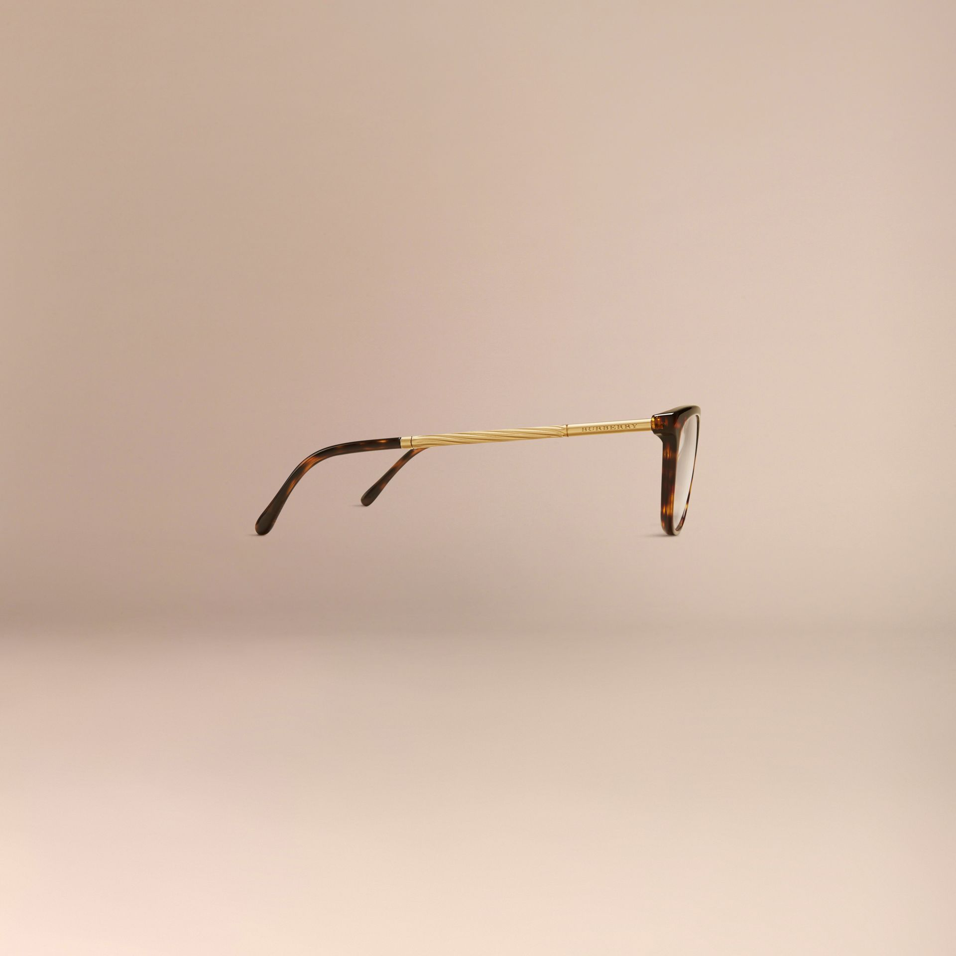 Gabardine Collection Cat-Eye Optical Frames Tortoise Shell - gallery image 5