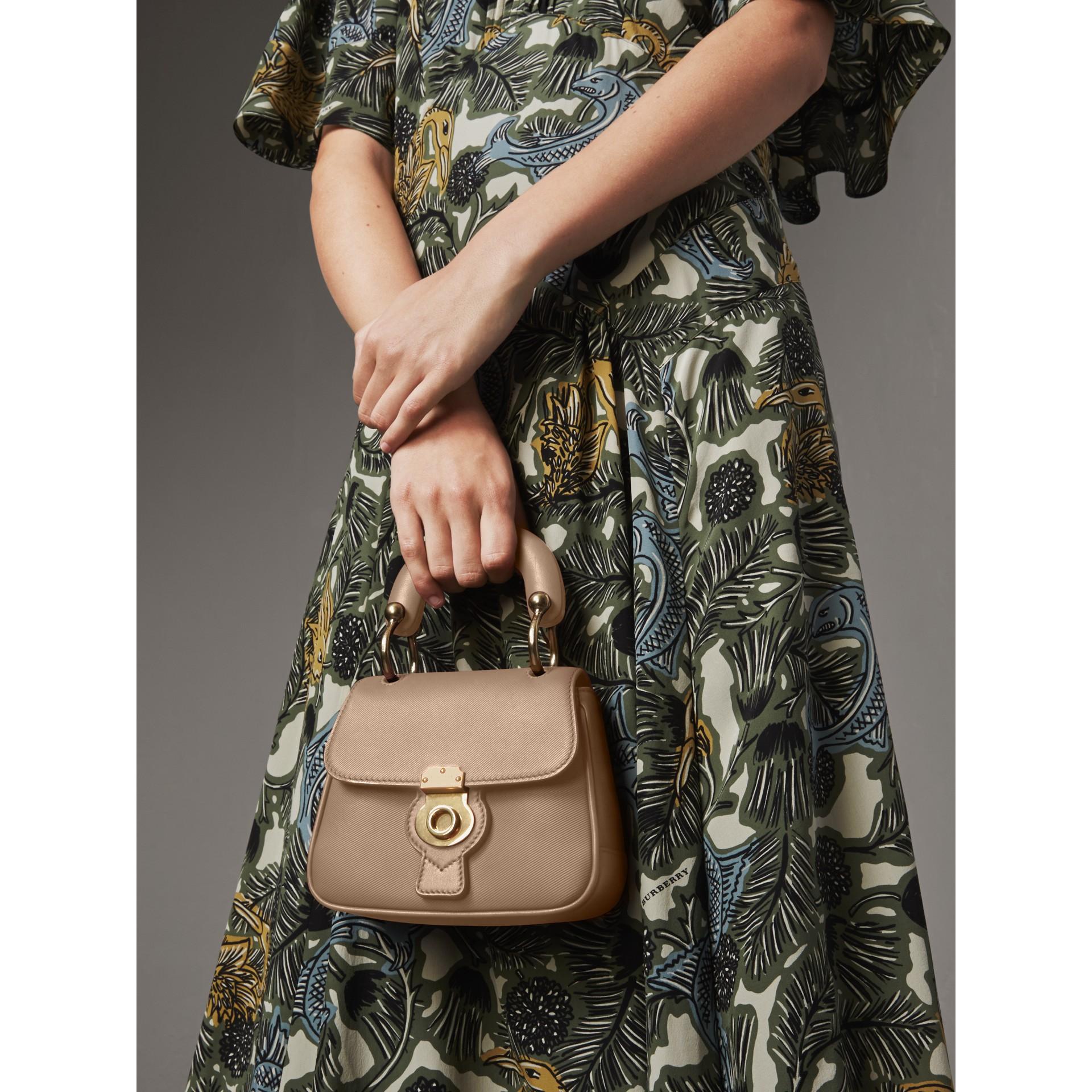 The Mini DK88 Top Handle Bag in Honey - Women | Burberry - gallery image 4