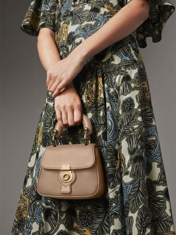 The Mini DK88 Top Handle Bag in Honey - Women | Burberry - cell image 3