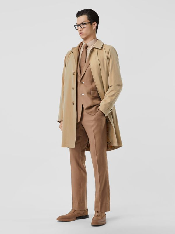 The Camden - Car Coat (Mel) - Homens | Burberry - cell image 2