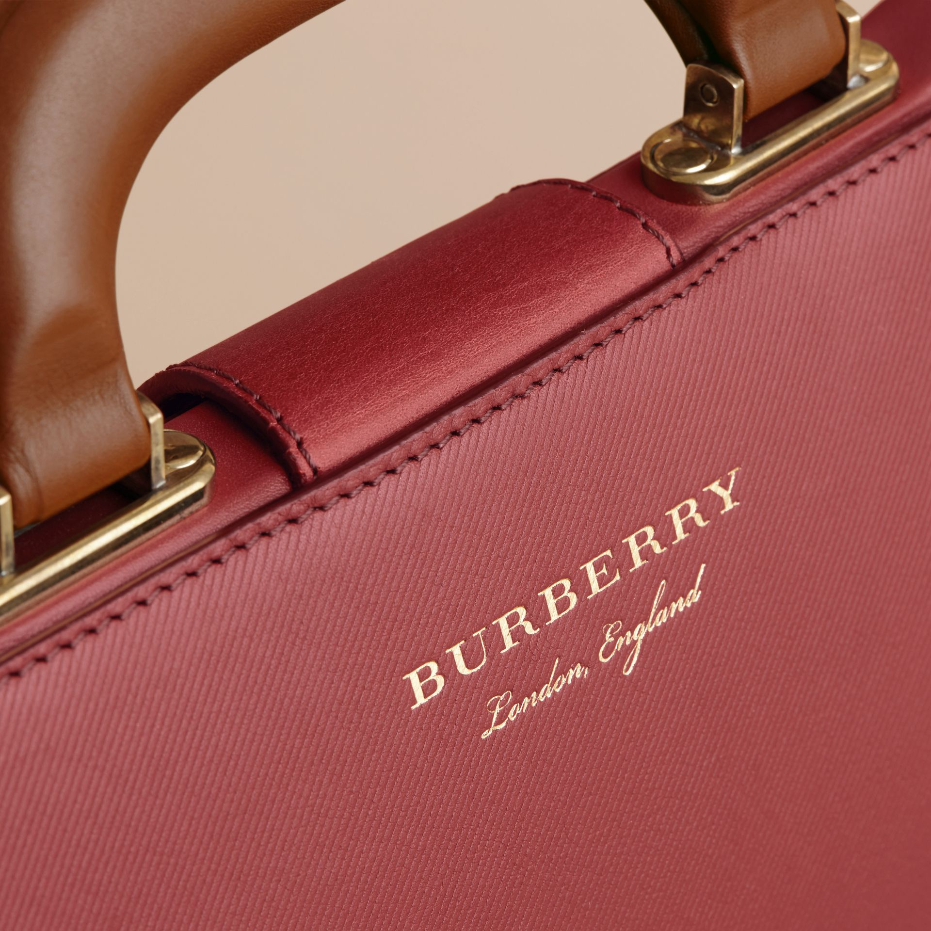 The DK88 Doctor's Bag in Antique Red - Men | Burberry - gallery image 5