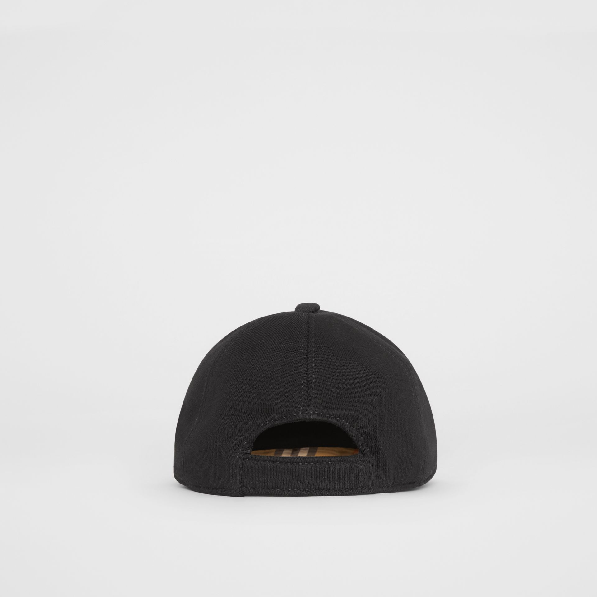 Embroidered Logo Baseball Cap in Black - Children | Burberry United Kingdom - gallery image 2