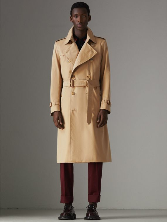 The Kensington - Trench coat Heritage longo (Mel)