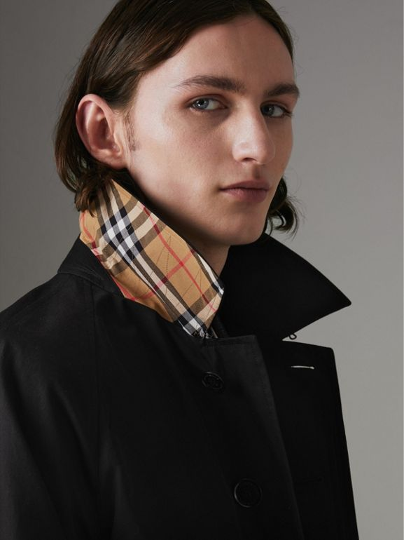 The Camden Car Coat in Black - Men | Burberry Canada - cell image 1