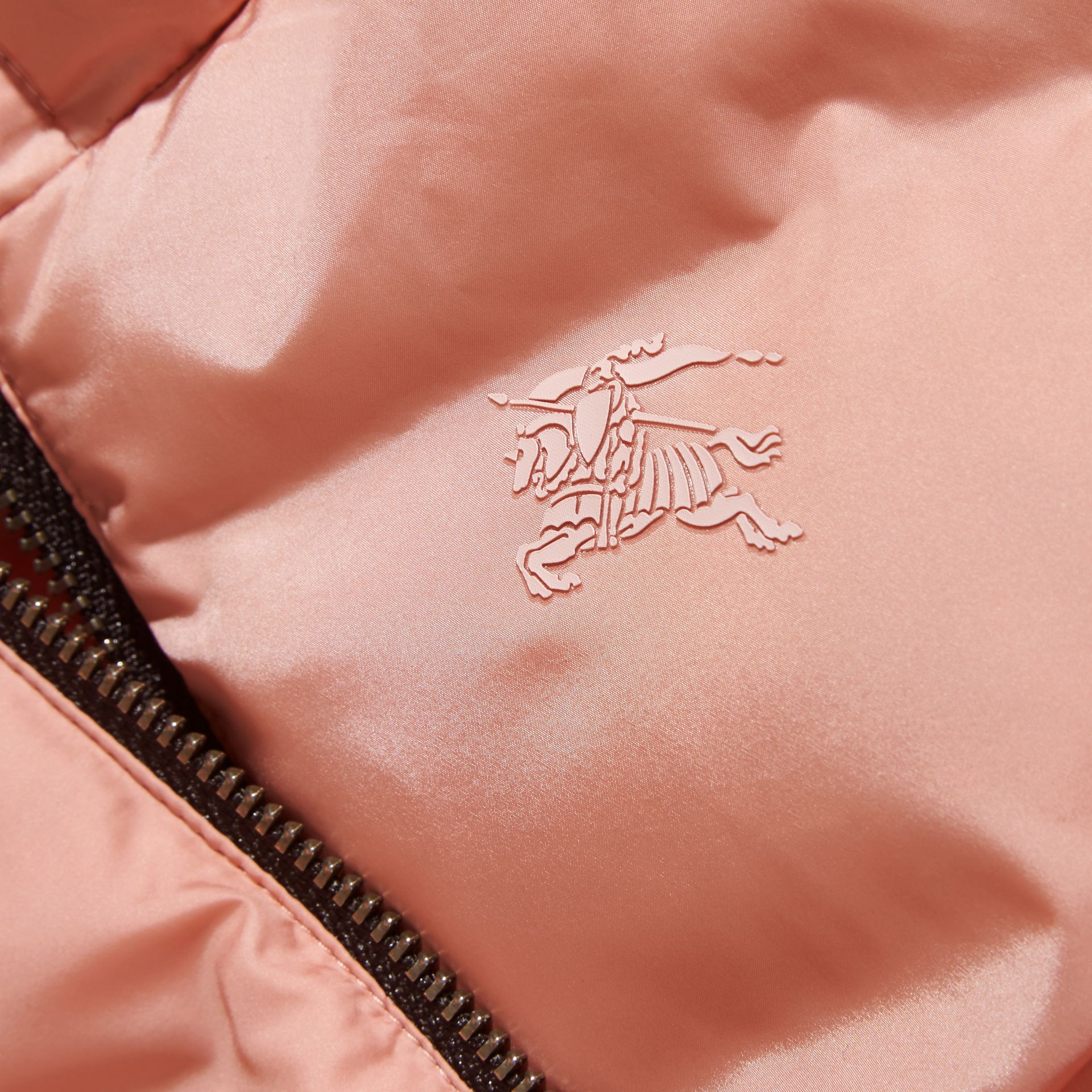 Light copper pink Reversible Puffer Coat Light Copper Pink - gallery image 2