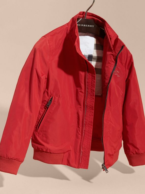 Packaway Blouson in Military Red - Boy | Burberry - cell image 2