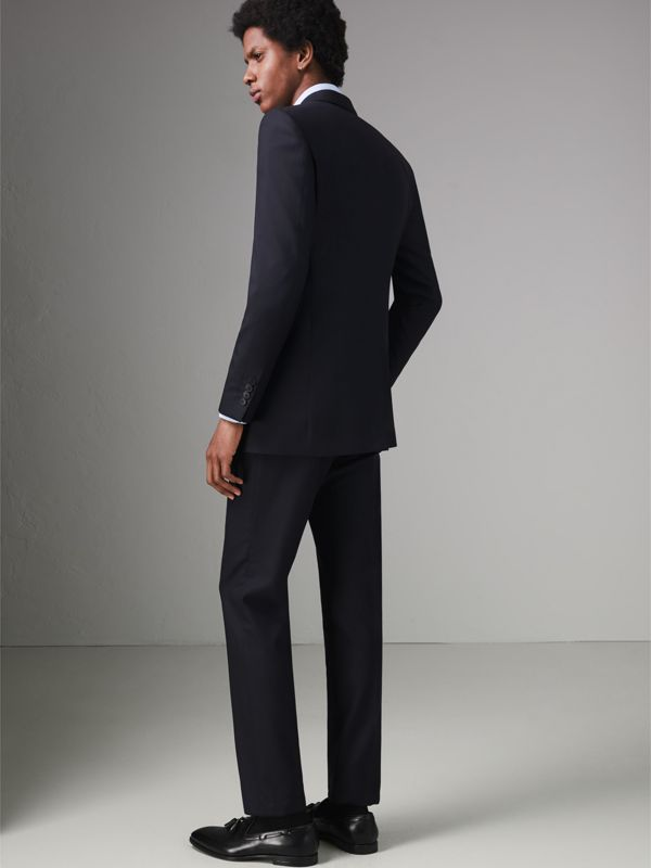 Classic Fit Wool Twill Suit in Navy - Men | Burberry United Kingdom - cell image 2