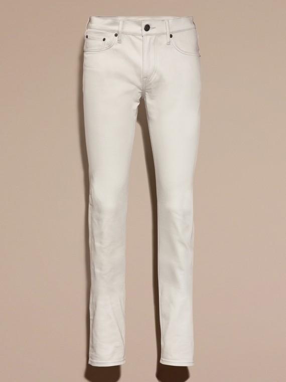 Pietra pallido Jeans aderenti in denim stretch giapponese Pietra Pallido - cell image 3