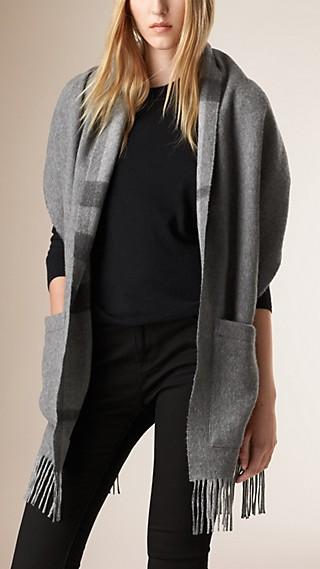 Merino Wool Cashmere Stole