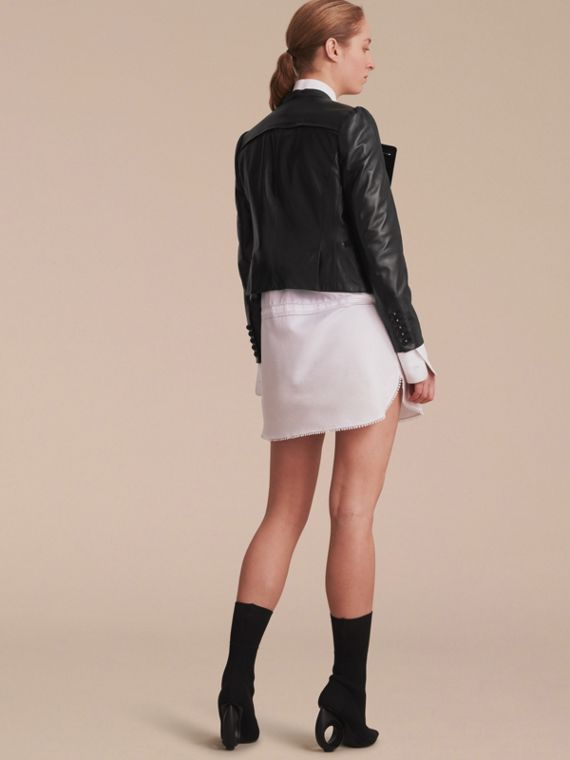 Lambskin Double-breasted Jacket - cell image 2
