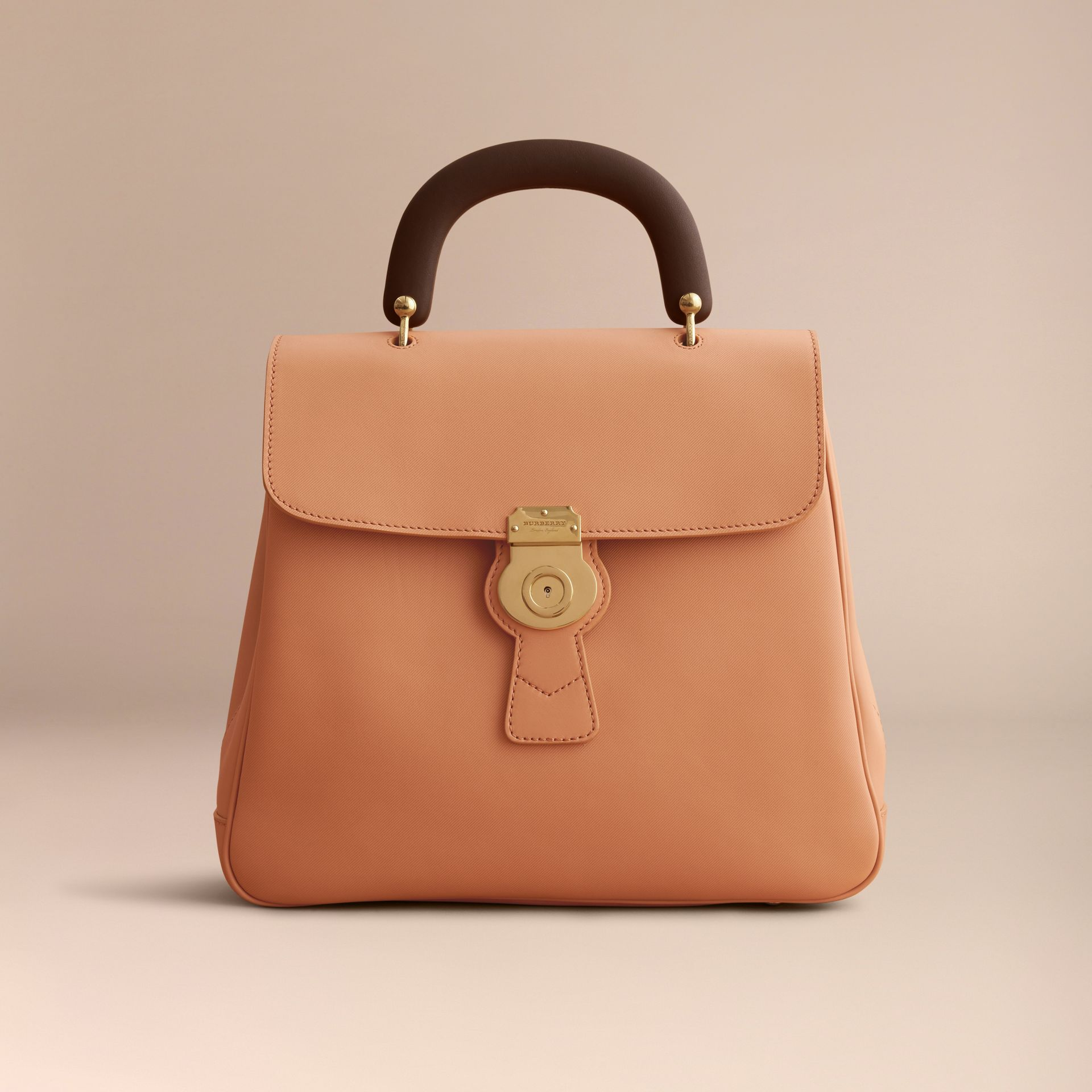 The Large DK88 Top Handle Bag in Pale Clementine - Women | Burberry Australia - gallery image 6