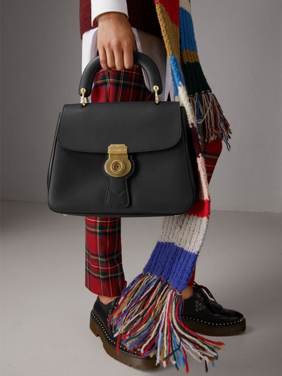 The Medium DK88 Top Handle Bag in Black - Women | Burberry - cell image 2