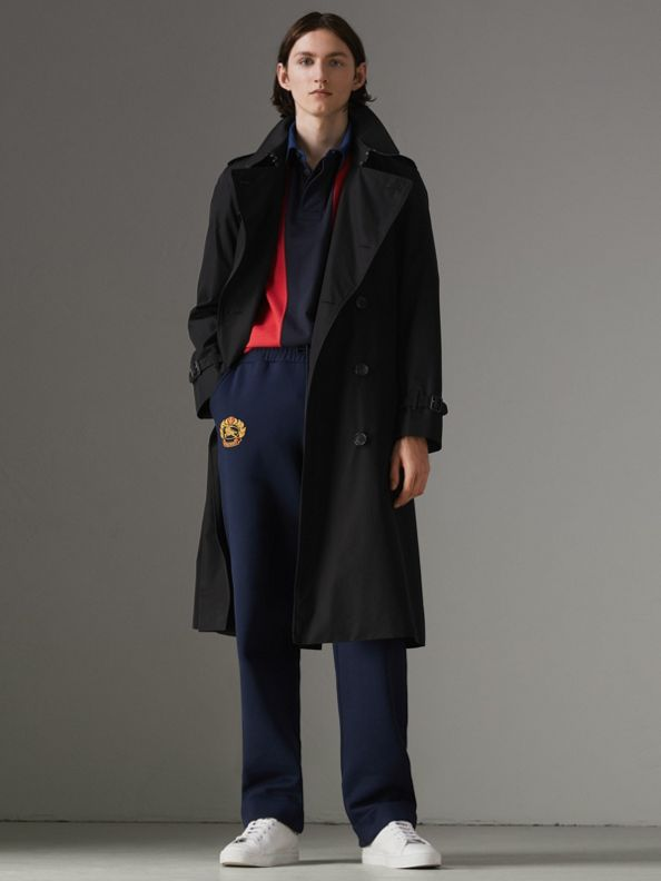 The Chelsea - Trench coat Heritage longo (Preto)