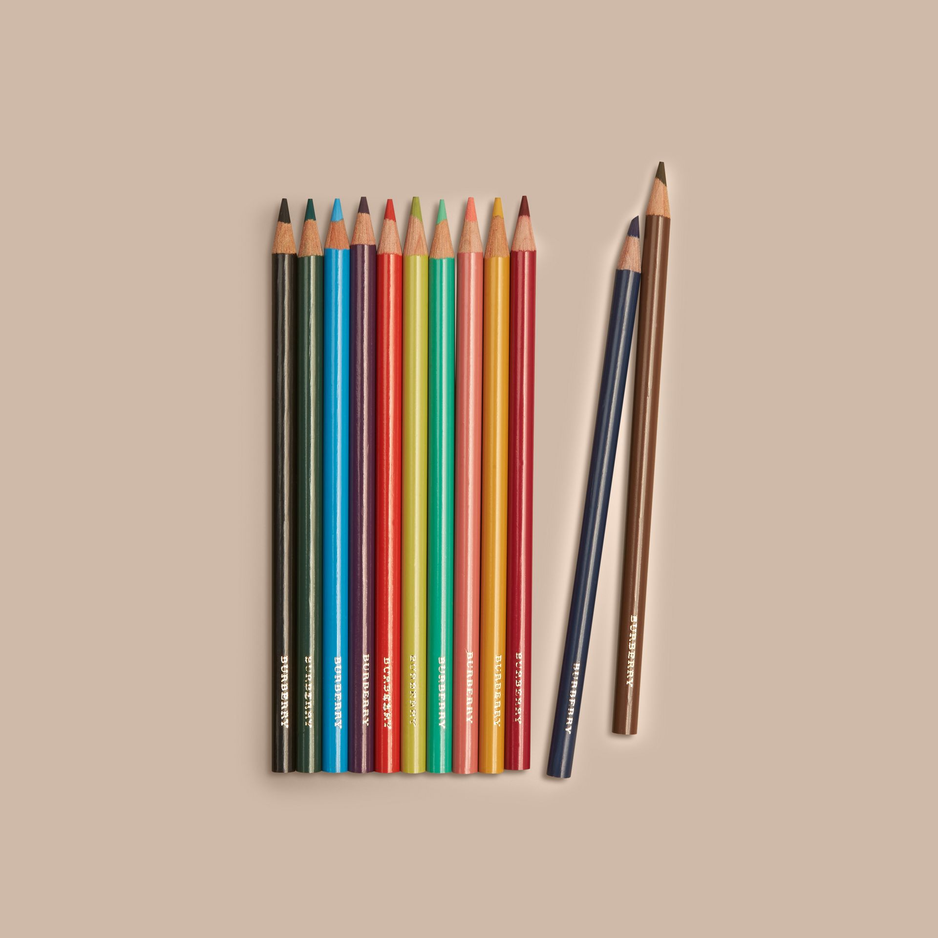 Multicolour Set of Coloured Pencils - gallery image 2