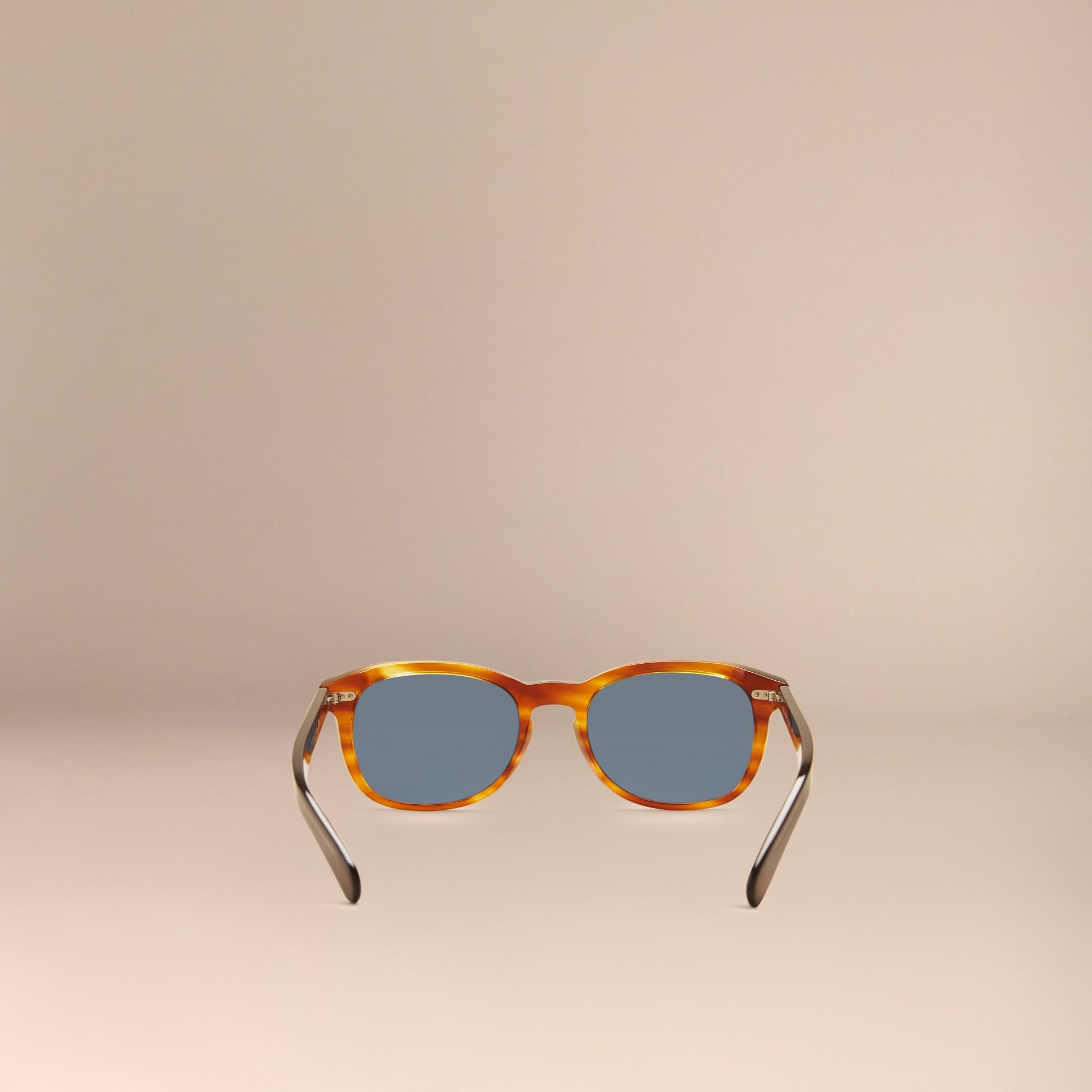 Tortoise amber Square Frame Sunglasses Tortoise Amber - gallery image 4