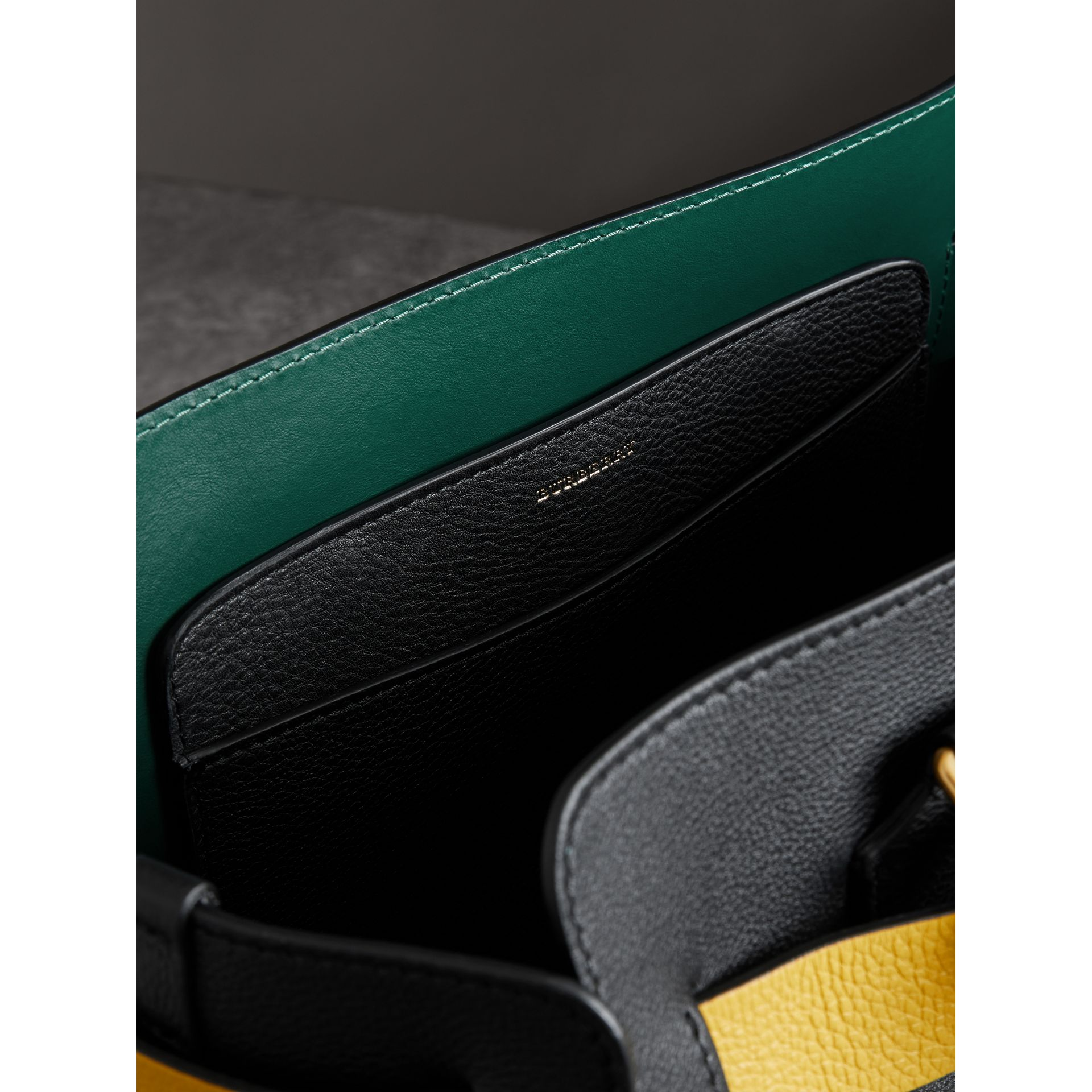 The Medium Leather Belt Bag in Black - Women | Burberry Australia - gallery image 4