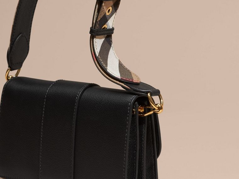 Black The Small Buckle Bag in Leather - cell image 4