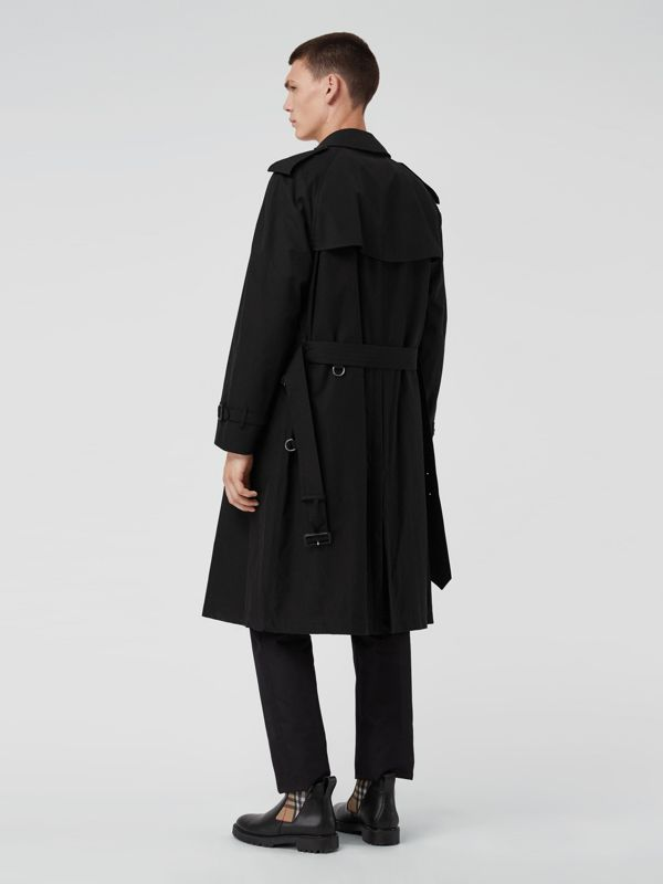 The Westminster Heritage Trench Coat in Black - Men | Burberry Singapore - cell image 2