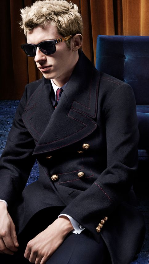 Black Modern Fit Wool Mohair Part-canvas Suit Black - Image 7