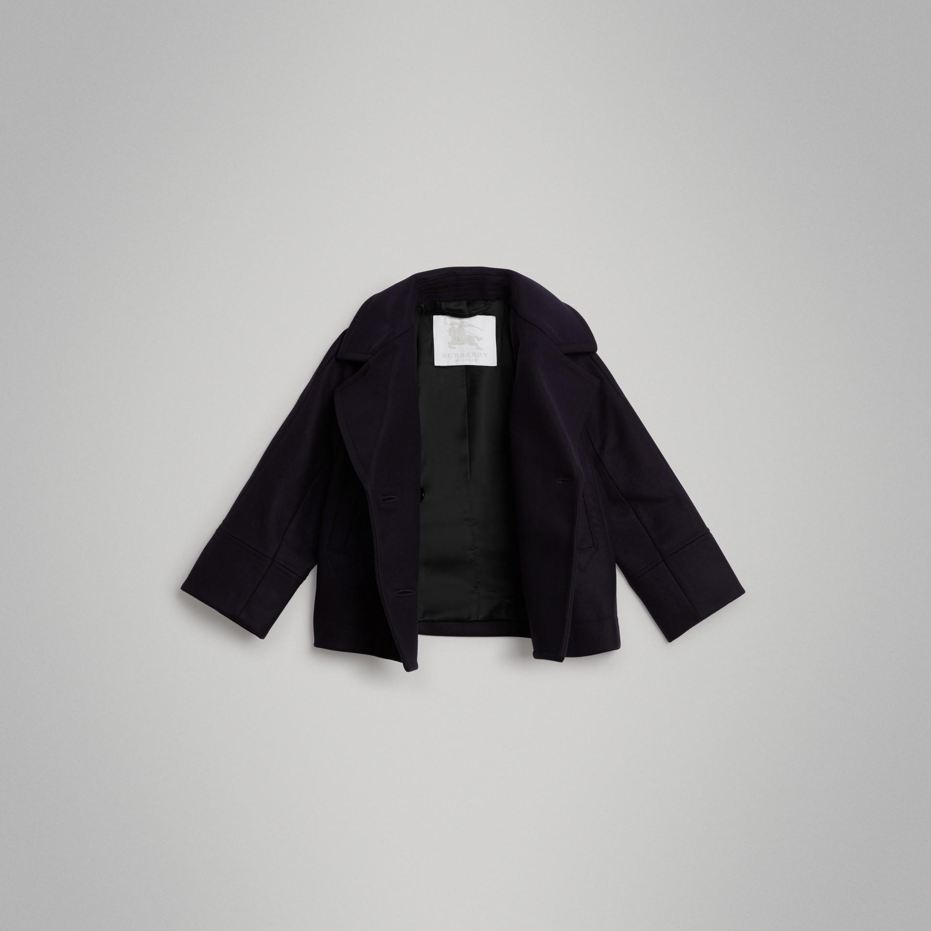 Pea coat corto in lana (Navy) | Burberry - immagine della galleria 3
