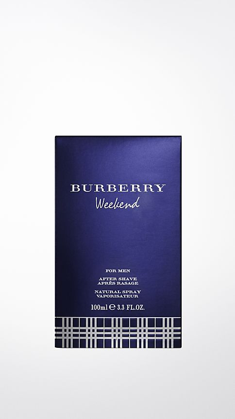 Pale green opal Burberry Weekend For Men  Aftershave Lotion 100ml - Image 2