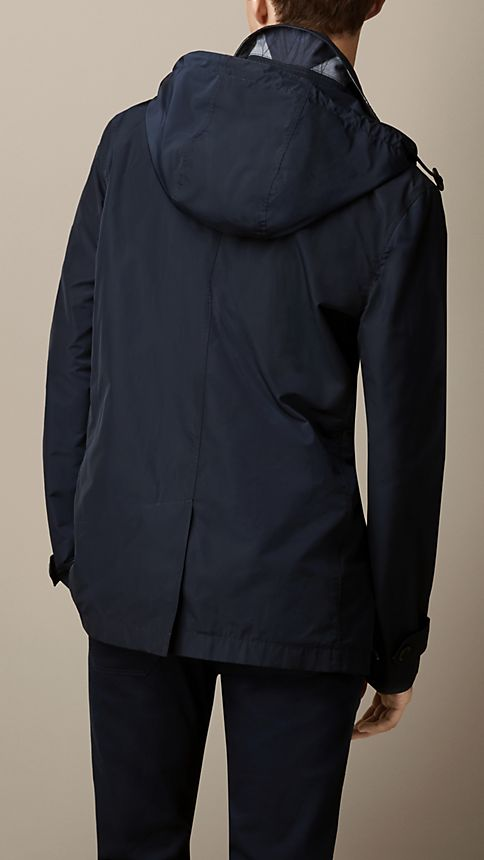 Ink Technical Fabric Detachable Hood Jacket - Image 2