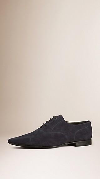 Zapatos de estilo Oxford en ante