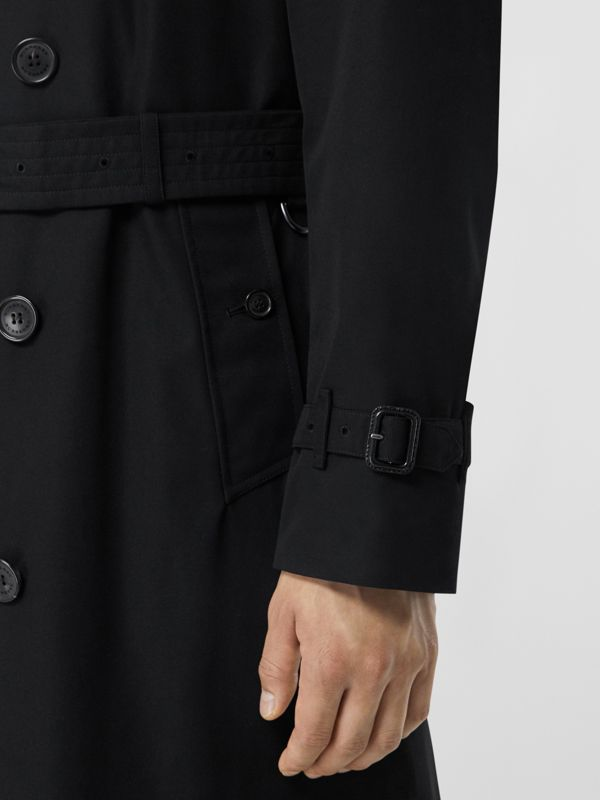 The Chelsea - Trench coat Heritage longo (Preto) - Homens | Burberry - cell image 3