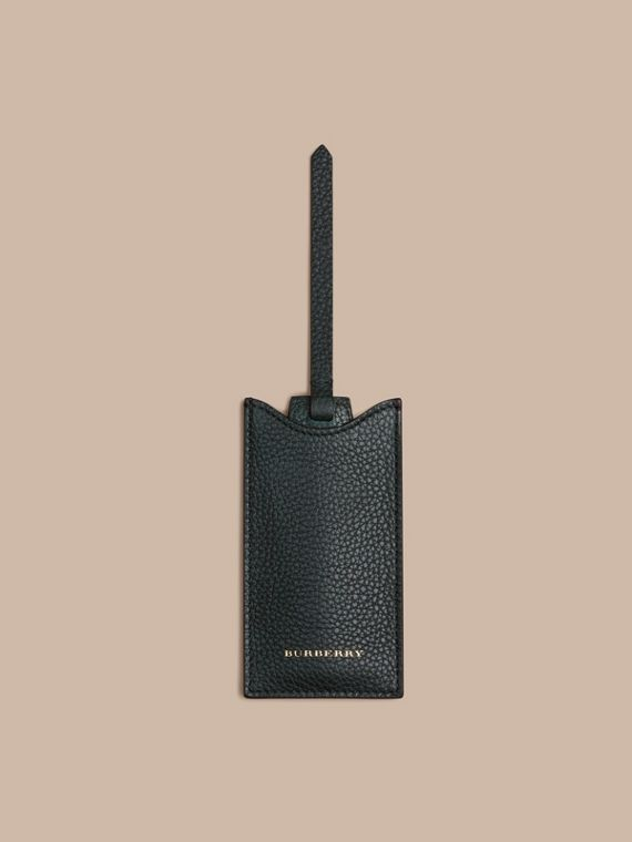 Leather Shoe Horn in Dark Forest Green - Men | Burberry - cell image 3