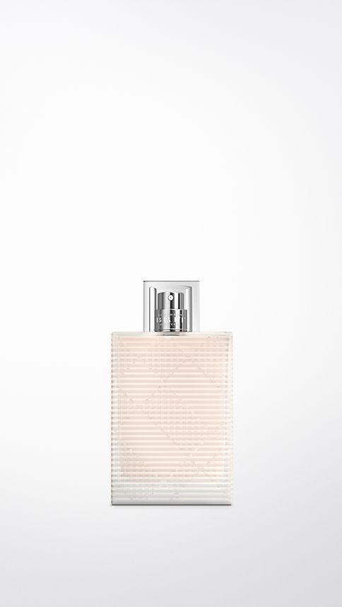 Clear Burberry Brit Rhythm Hair Mist 50ml - Image 1