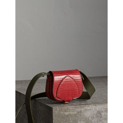 Ralph Lauren Pas Le Sac De Poche En Alligator, Rouge