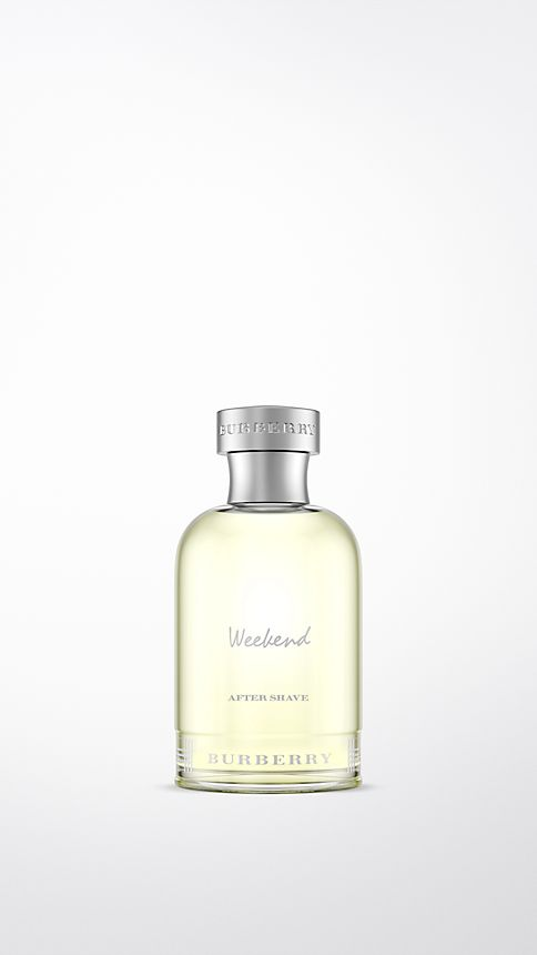 Pale green opal Burberry Weekend For Men  Aftershave Lotion 100ml - Image 1