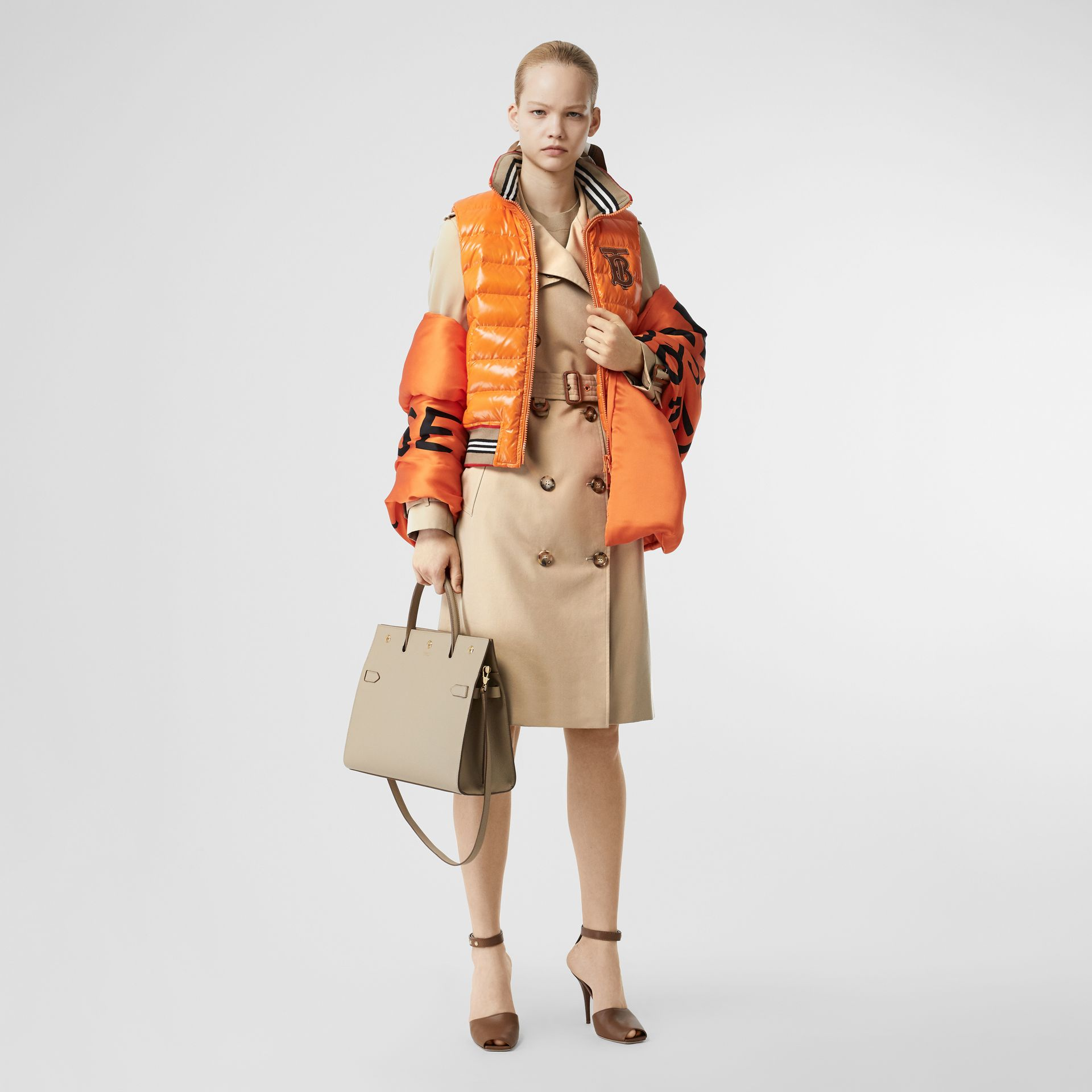 Trench The Islington (Miel) - Femme | Burberry Canada - photo de la galerie 6