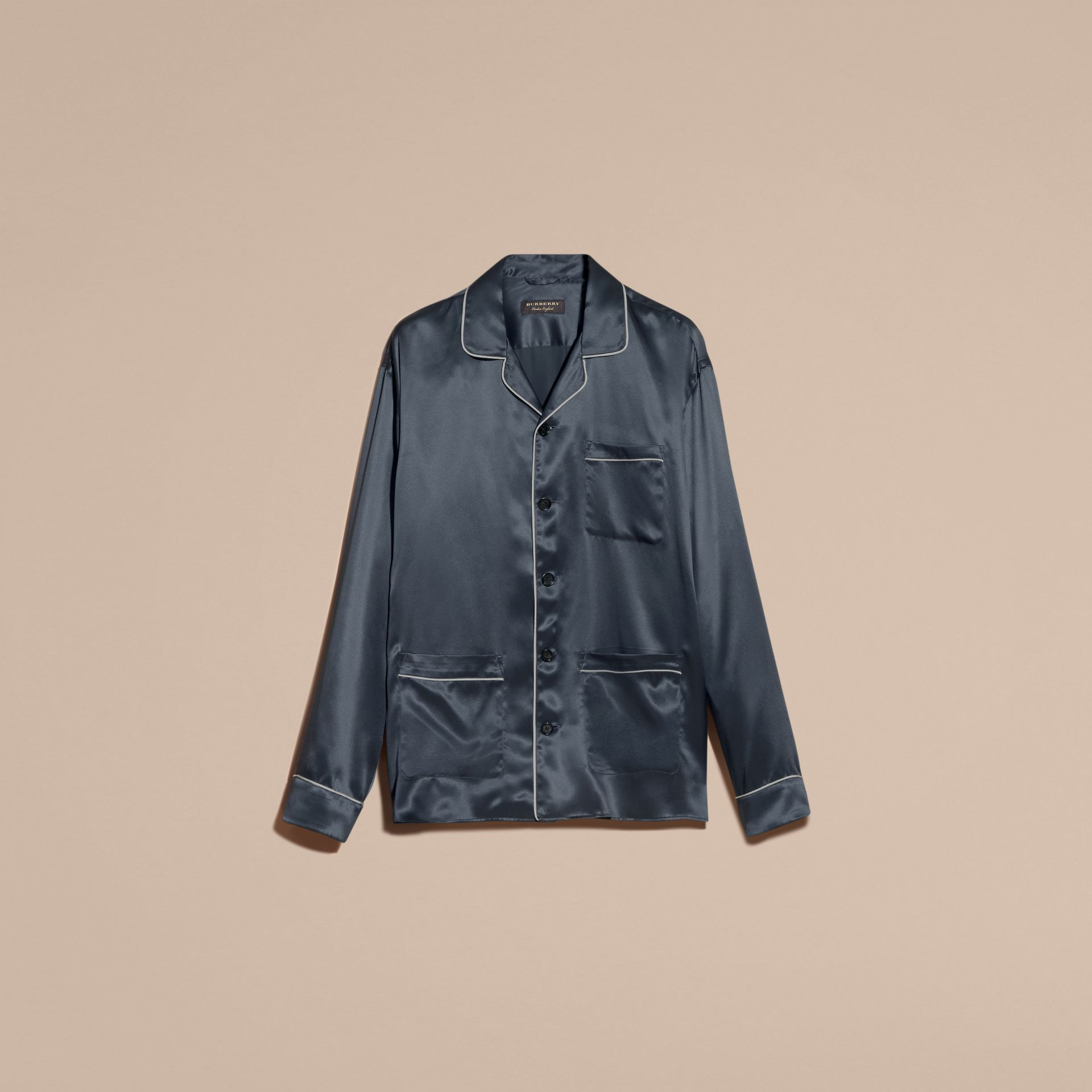 Silk Pyjama-style Shirt - gallery image 4