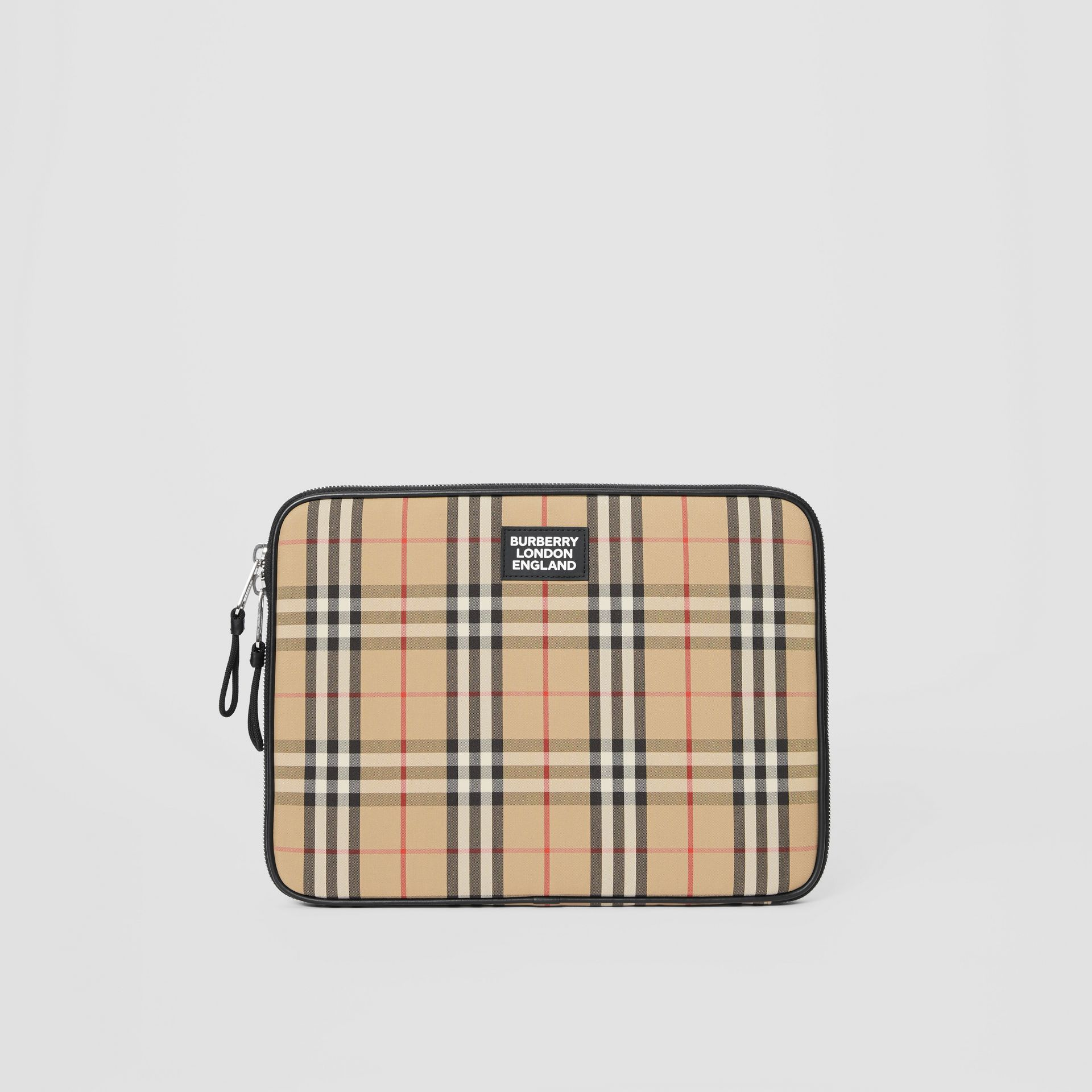Vintage Check Digital Case in Archive Beige - Men | Burberry Australia - gallery image 2