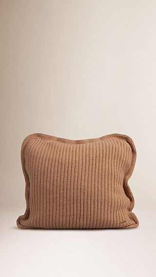 Knitted Cashmere Cushion Cover