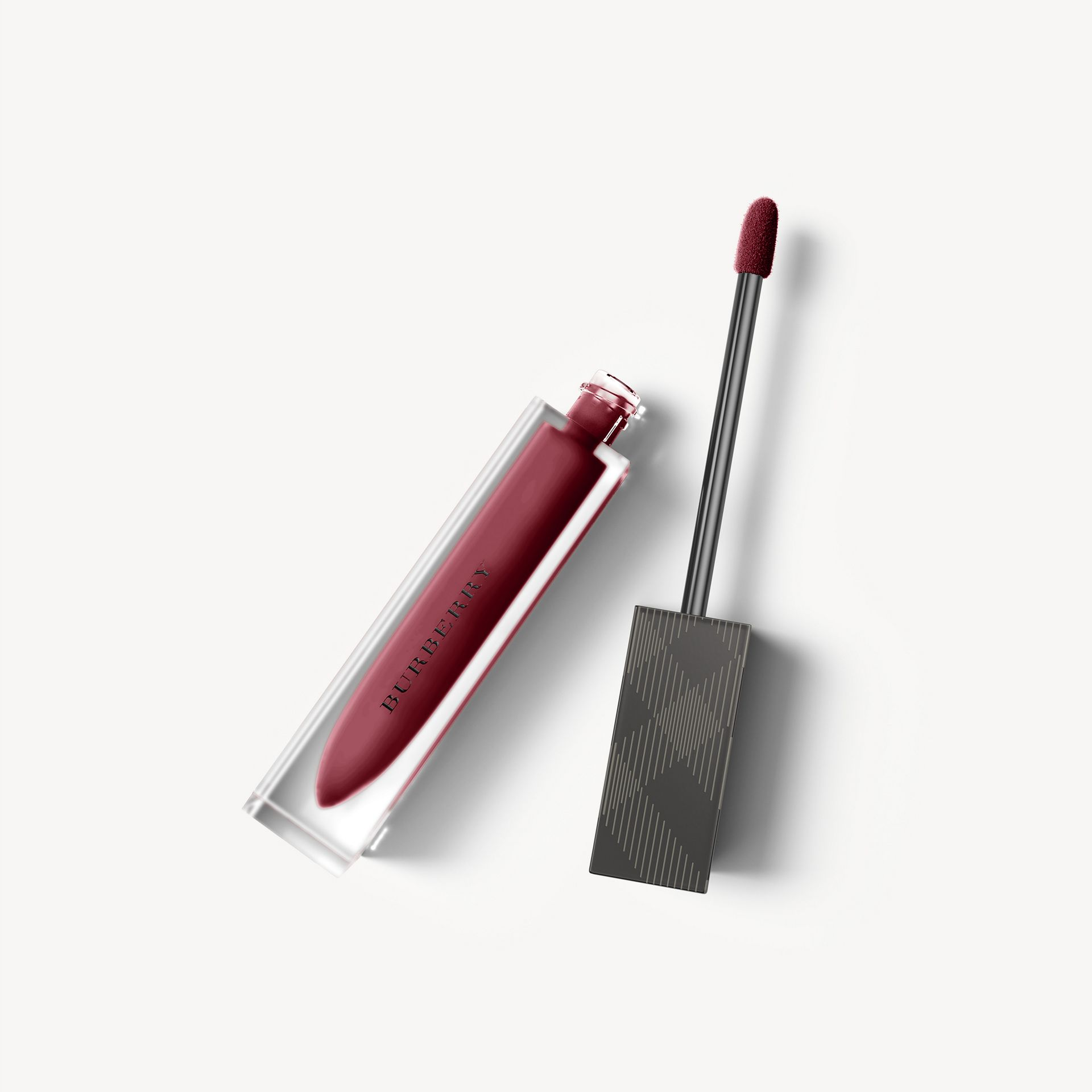 Liquid Lip Velvet – Black Cherry No.57 - Women | Burberry Australia - gallery image 1