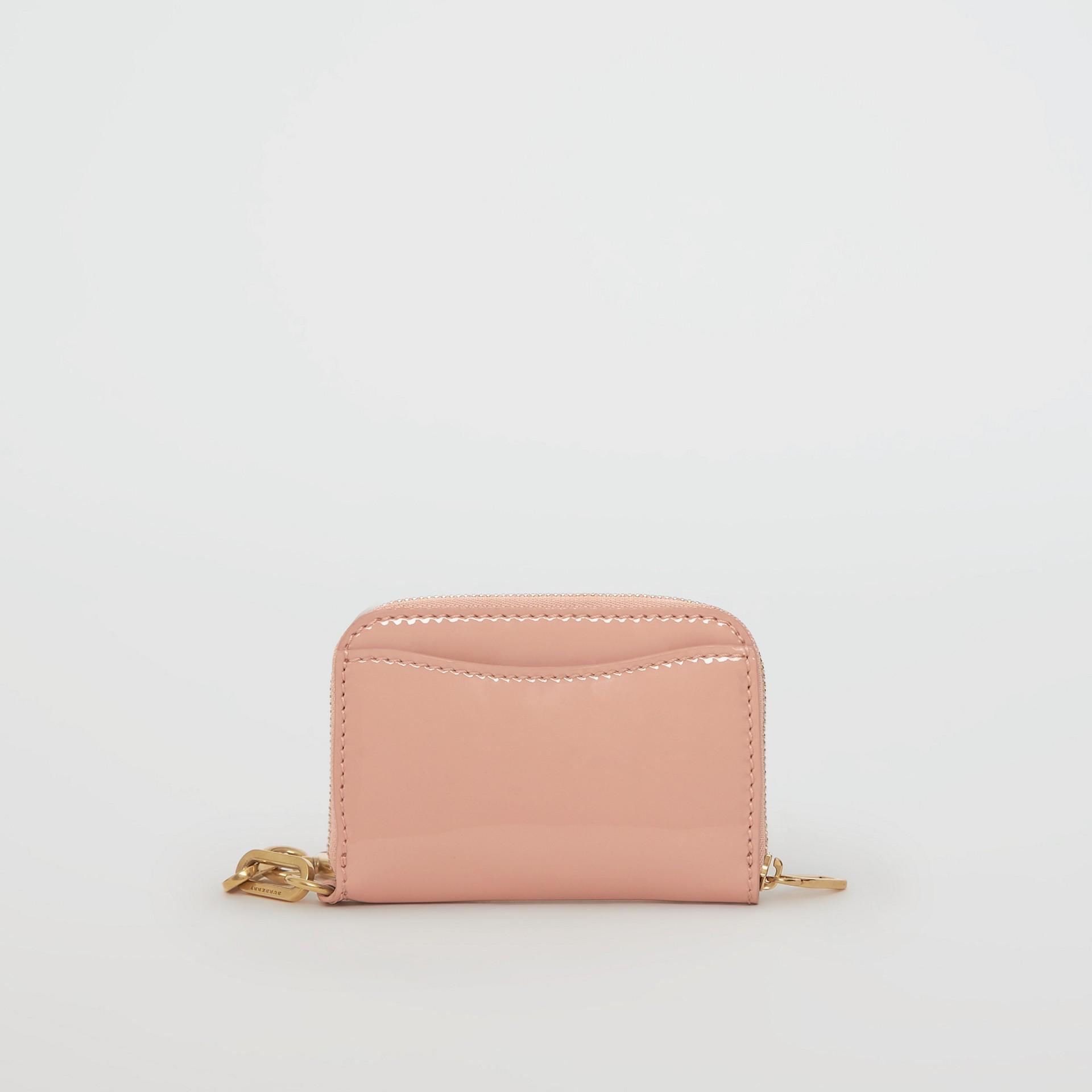 Кожаный бумажник из кожи с цепочкой (Бледный Бежево-розовый) - Для женщин | Burberry - изображение 5