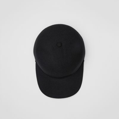 Felted Wool Baseball Cap by Burberry