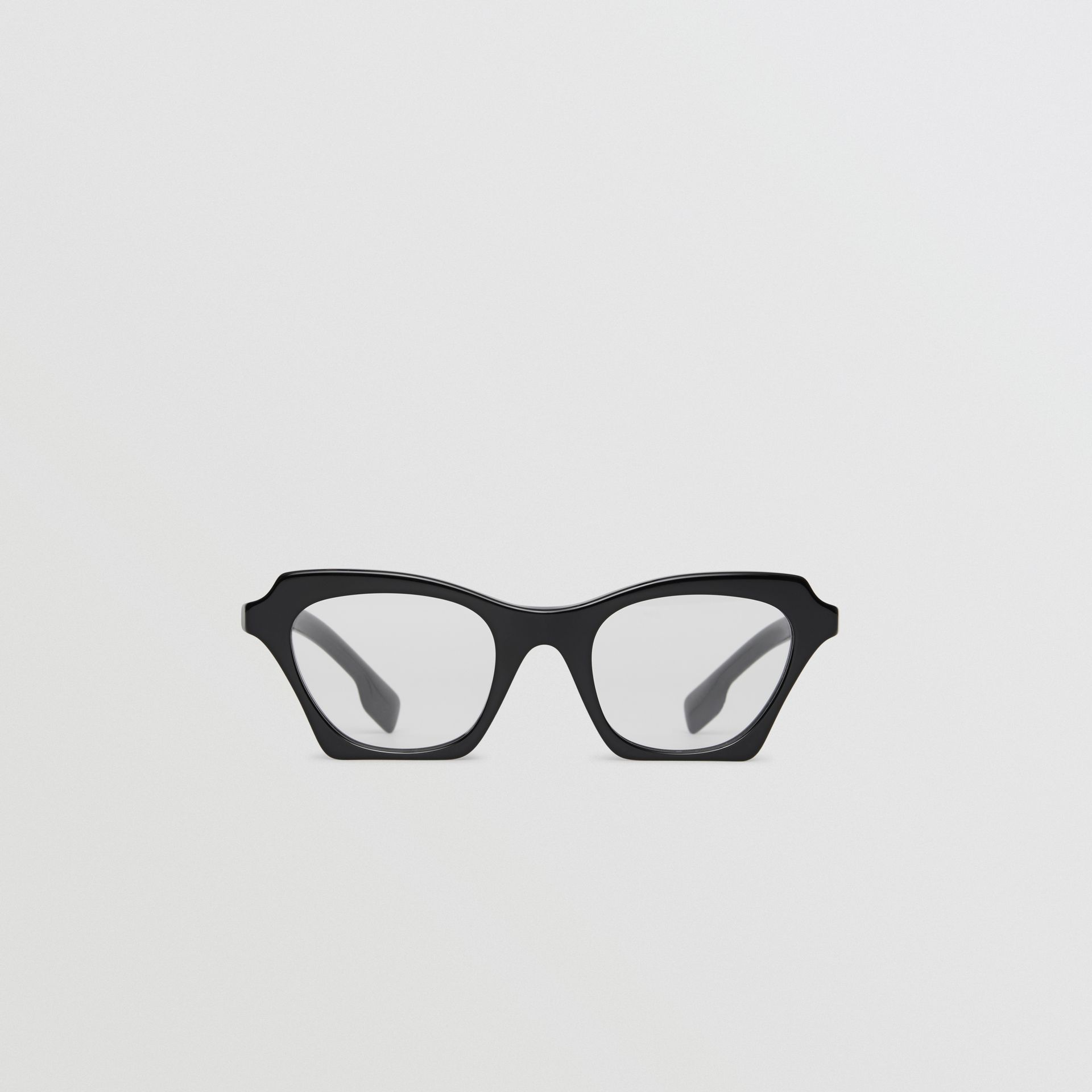 Butterfly Optical Frames in Black - Women | Burberry United Kingdom - gallery image 0