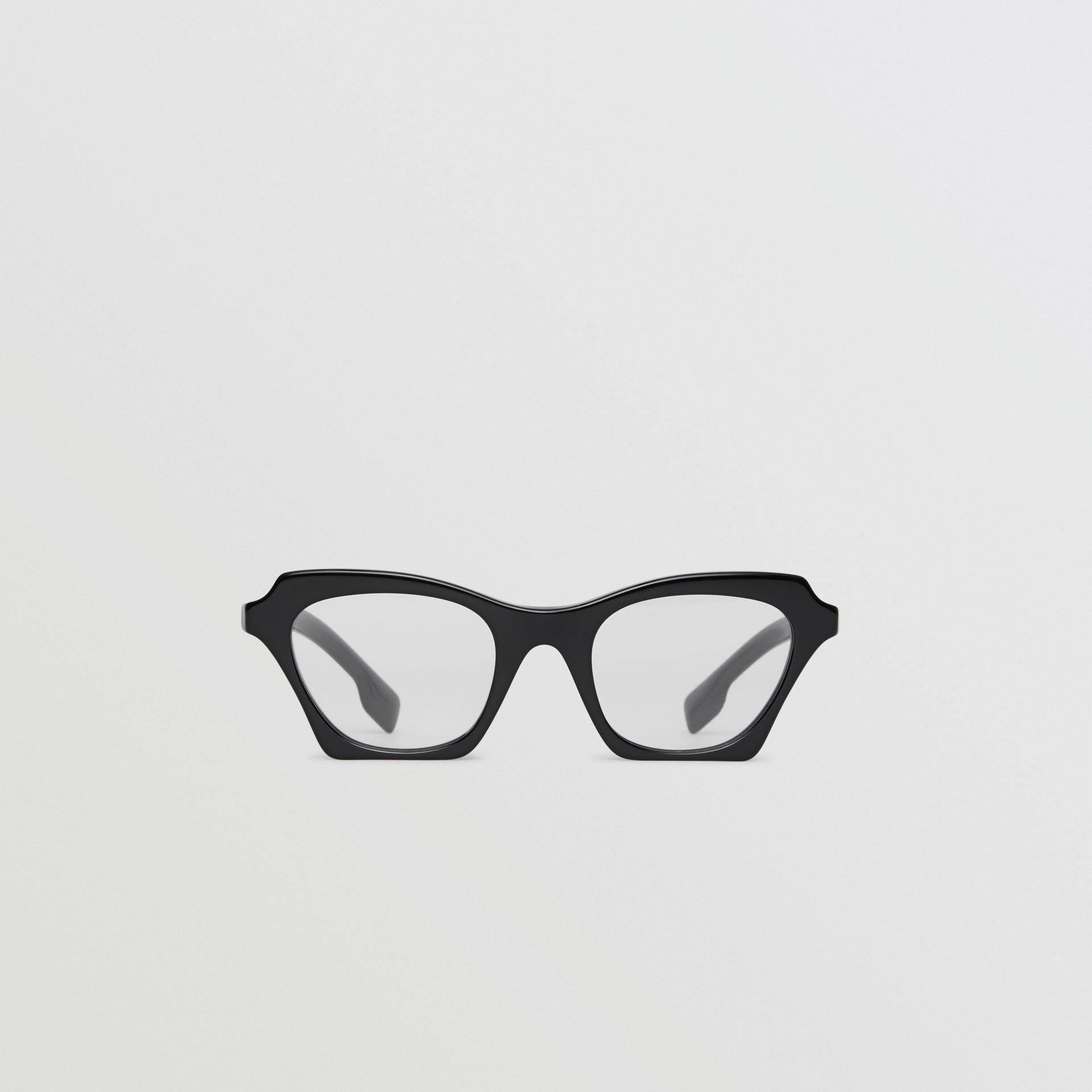 Butterfly-Korrekturbrille (Schwarz) - Damen | Burberry - Galerie-Bild 0