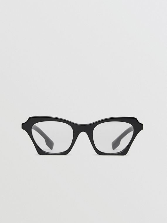 Butterfly Optical Frames in Black
