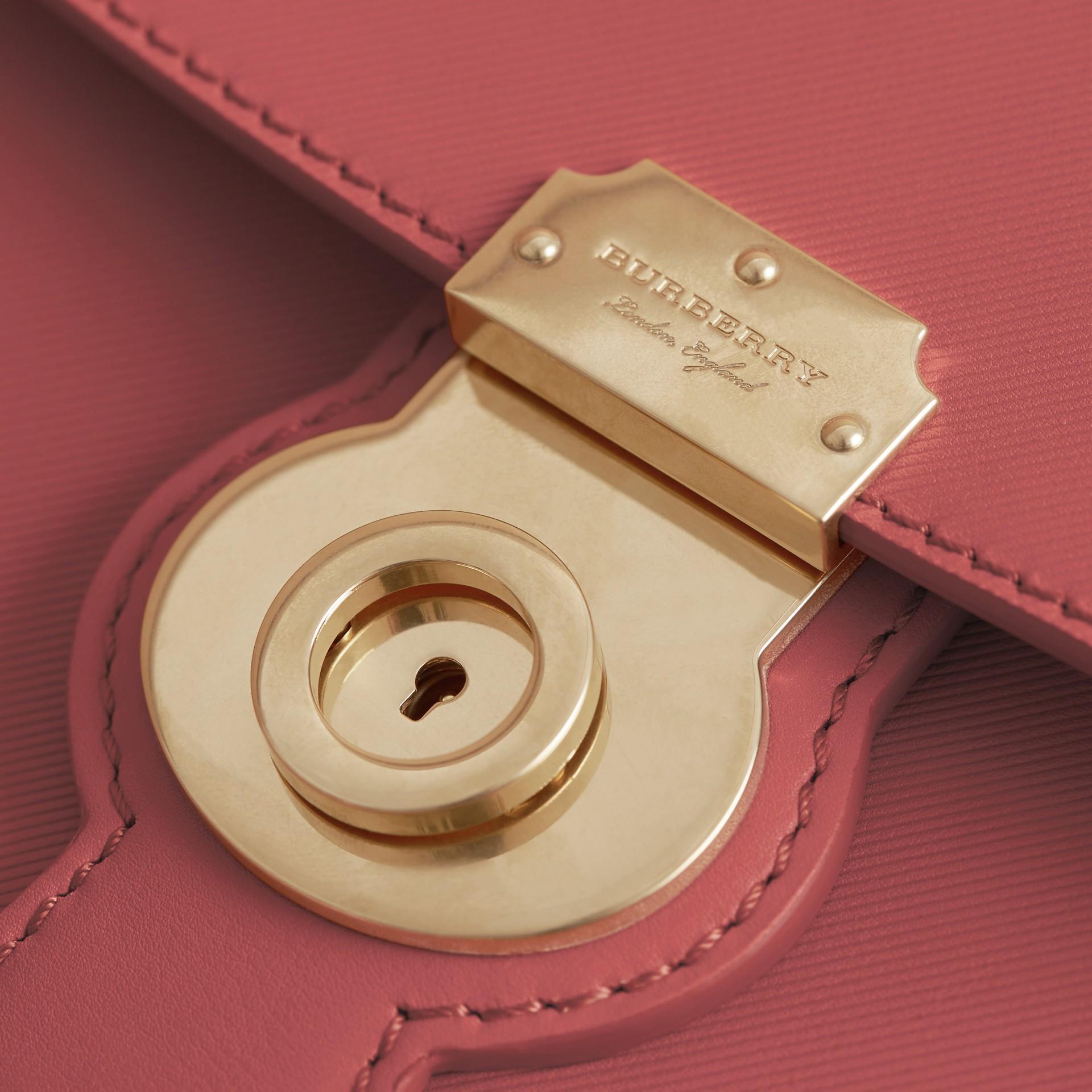 The Medium DK88 Top Handle Bag Blossom Pink - gallery image 5