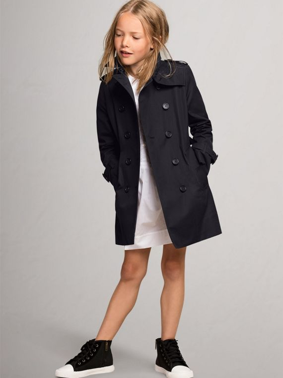 The Sandringham - Trench coat (Azul Marinho)