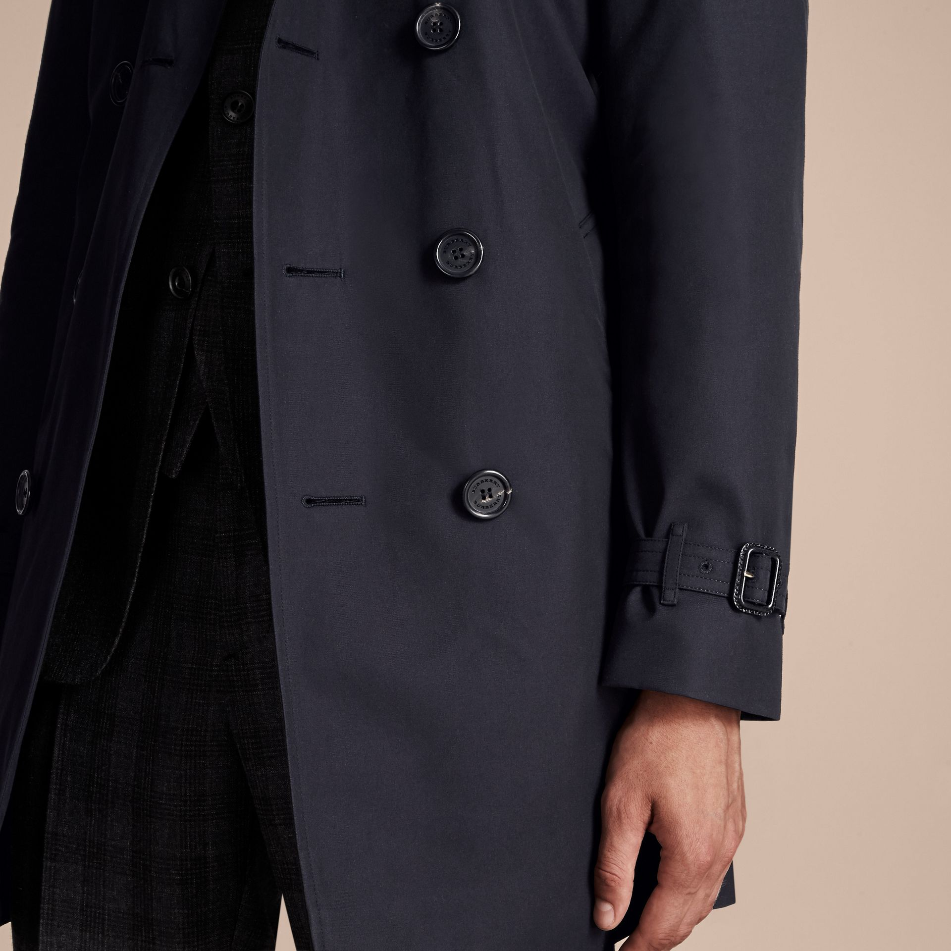 Navy The Chelsea - Trench coat Heritage medio Navy - immagine della galleria 7