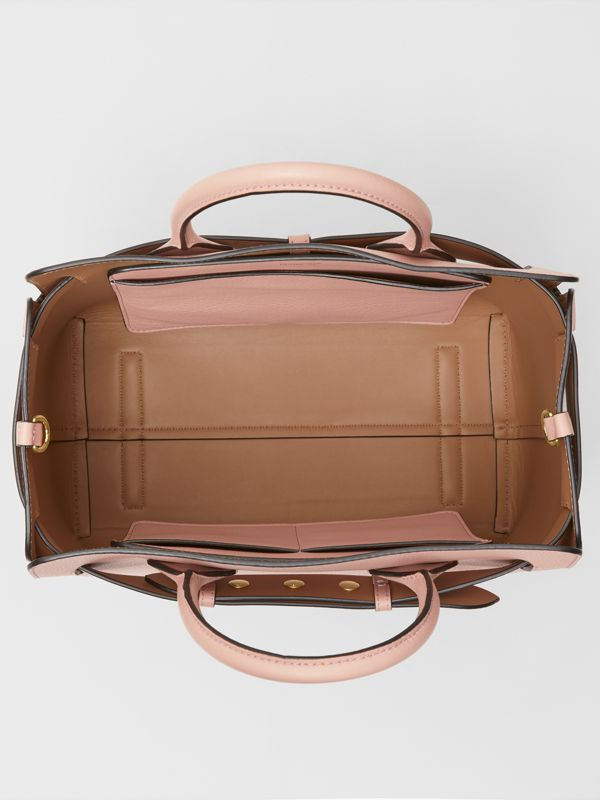 The Medium Leather Triple Stud Belt Bag in Ash Rose - Women | Burberry United States - cell image 3