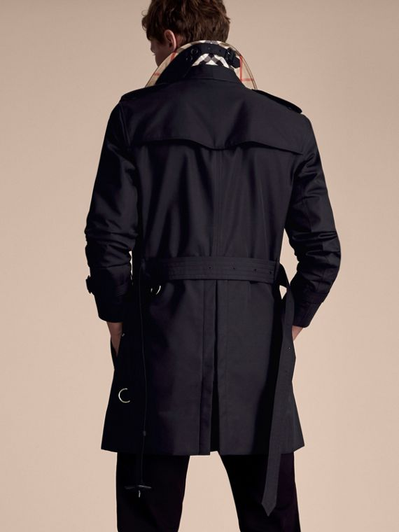 Navy The Sandringham – Mid-length Heritage Trench Coat Navy - cell image 2