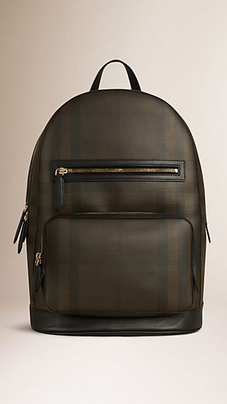 London Check Backpack